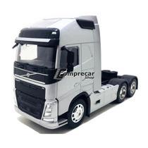 Miniatura Caminhão Volvo FH 500 6X4 Welly 1/32 Na Caixa -