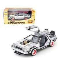 Miniatura Carro Delorean De volta para o Futuro 3 Welly 1/24 -