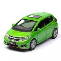 Miniatura carro honda fit 1:32 abre 4 portas luz - Jackienkim