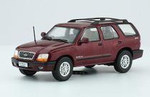 Miniatura Carros Inesquecíveis do Brasil edição 116 - Chevrolet Blazer (2002)