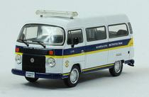 Miniatura Carros Veículos de Serviço do Brasil edição 37 - Kombi Standart Guarda Civil - Pmsp