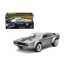 Miniatura Fast  Furious 8 Doms Ice Charger 1:24 - Jada Toys - Dtc