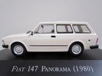 Miniatura Fiat 147 Panorama 1980 Carros Inesquecíveis do Brasil 1/43 Ixo Planeta de Agostini -