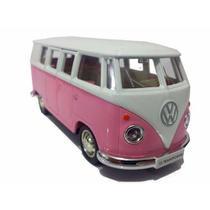 Miniatura Kombi Rosa Coleção - Hypem