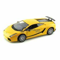 Miniatura Lamborghini Gallardo Superleggera Amarelo 1/24 -