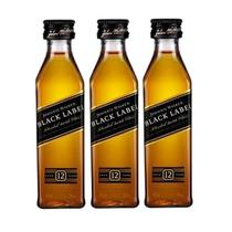 Miniatura Mini Whisky Johnnie Walker Black Label 50ml 03 Un.