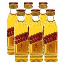 Miniatura Mini Whisky Red Label 50ml 06 Unidades - Johnnie walker