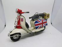 Miniatura Motocicleta Lambretta Modelo 1965 Trip To England - Vintage