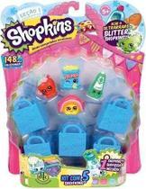 Miniaturas Colecionáveis Shopkins Kit Com 5 Unidades Blister DTC Ref. 3581 -