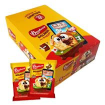 Minibolo Recheio Baunilha Chocolate c/14 - Bauducco -