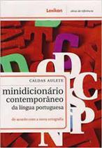 Minidicionario Contemporaneo Da Lingua Portuguesa - Caldas Aulete - Lexikon -
