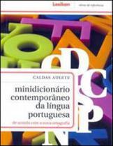 Minidicionario contemporaneo da lingua portuguesa - de acordo com a nova ortografia - Lexikon
