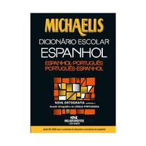 Minidicionário Espanhol Michaelis - Editora Melhoramentos -