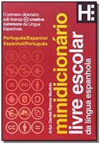 Minidicionario: livre escolar da lingua espanhola - Hedra -