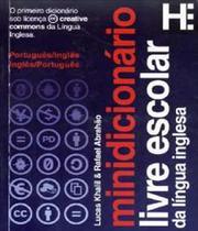 Minidicionario Livre Escolar Da Lingua Inglesa - Hedra educacao