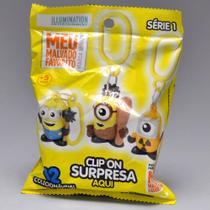 Minions Clip On Surpresa Dtc Amarela -