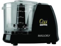 Miniprocessador 100W Base Antiderrapante - Mallory Oggi Black