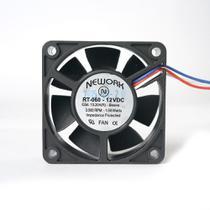 Miniventilador Nework 60x60x20 12 Vdc Fan Ventilador Cooler dissipador de calor -