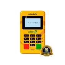 Minizinha Chip 2  Aceita Débito, Crédito e Refeição 3G Sem aluguel Conexão Wifi + CHIP Pag-seguro - Pagseguro