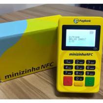 Minizinha NFC Visor Luminoso e Bluetooth Lançamento PagSeguro I Pax D175 -