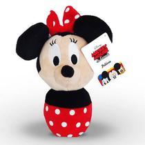 Minnie Mundo Plush Turma do Mickey Disney - DTC 4392 -