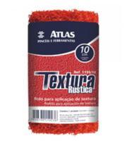 Mino rolo para Efeito em Textura Rústica 1155/10 10 cm Vermelho - Atlas