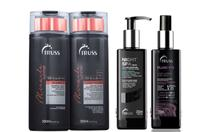Miracle Summer Shampoo e Condicionador e Night Spa e Fluid Fix - Truss