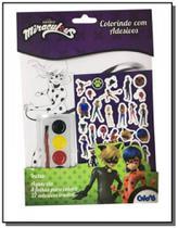 Miraculous - colorindo com adesivos - (0734) - Editora on-line