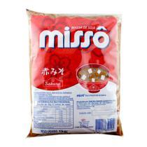 Missô Aka Vermelho Pasta de Soja em Pacote - Sakura - 1kg -