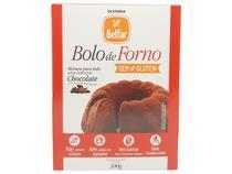 Mistura Bolo Chocolate Sem Leite Sem Lactose Belfar 300g - Olvebra