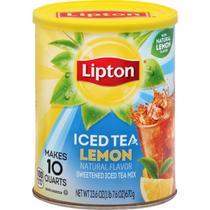 Mistura de chá gelado c/ limão 670g lipton -