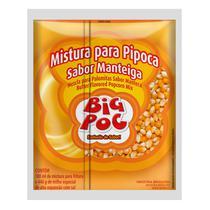 Mistura Para Pipoca Big Poc Sabor Manteiga -
