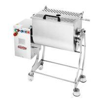 Misturadeira de Carne Motor 2 hp Total Inox 100 lts BM 107 NR 220V Bermar -