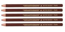 Mitsubishi Lapis Dermatografico 7600 Kit C/5 Marrom -