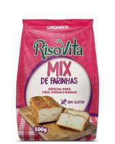 Mix de Farinhas sem Glúten Risovita 500g -