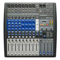 Mixer analogico e interface de gravacao presonus studiolive ar12 -