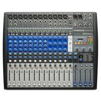 Mixer analogico e interface de gravacao presonus studiolive ar16 -