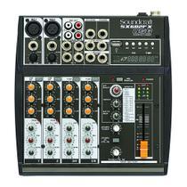 Mixer Analógico Soundcraft SX602FX 6 Canais USB - Harman - soundcraft