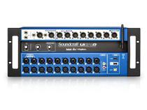 Mixer digital de 24 canais, controle Wi-Fi e Interface USB multipista para gravação  Soundcraft  UI24R -