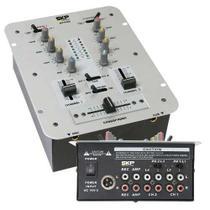 Mixer Dj Skp Sm 95 Com 2 Canais Controladora Dj Sm95 -