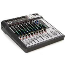 Mixer Mesa de Som 12 Canais Signature 12MTK Grava Multipista - Soundcraft -