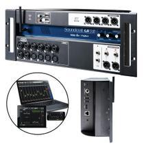 Mixer Mesa De Som Digital UI-16 - Soundcraft -