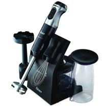 Mixer Oster Multipower Elegance 127V Preto 350W com Acabamento Em Aço Inox -