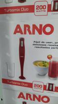 Mixer turbo Arno vermelho 220v 200 whats + copo -