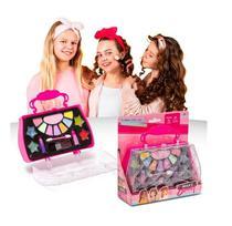 MK06 - Kit Maquiagem Infantil com Bolsa Maleta MakeBrinq - PoliBrinq. -