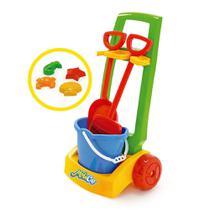 Mobi Car Praia - Usual Brinquedos -