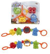 Mobile Baby Bichinhos Sortidos e Coloridos para Carrinho de Bebê ou Berço - Wellmix
