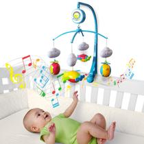 Móbile Giratório Musical De Bebê - Avião - Kitstar