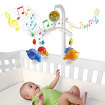 Móbile Giratório Musical De Bebê - Safari - Kitstar