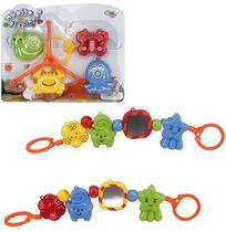 Mobile Infantil Bichinhos Colors Para Carrinho Na Cartela We - Wellmix